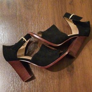 Vince Camuto Black Sandal Heels